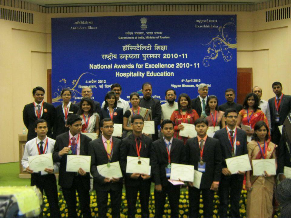 National Awards for Excellence in Hospitality Education for the year 2010 - 2011.