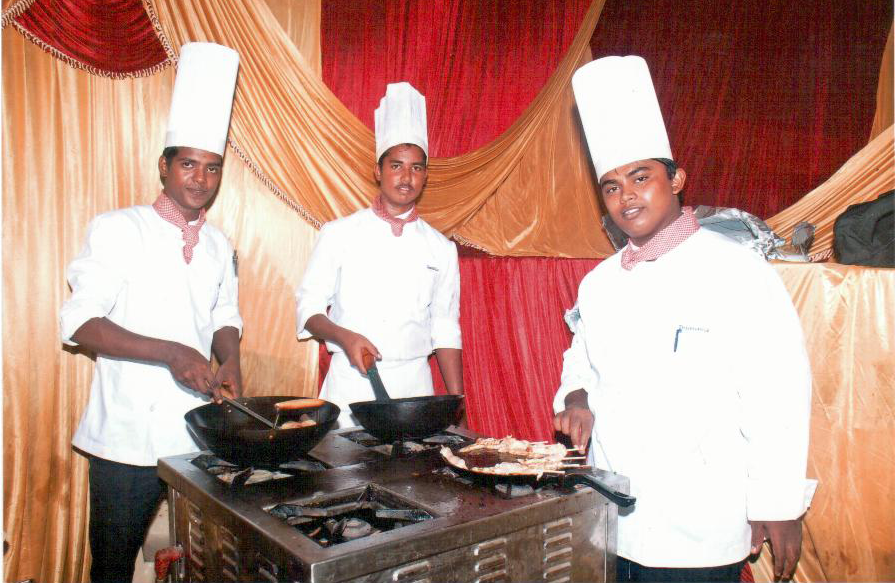 Showcasing for our dishes & talents in the GOURMET Food Festival