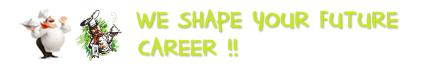 We shape your future career logo